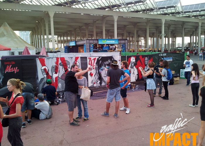 Cruilla Barcelona Cuadros Graffiti Mural